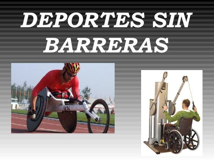 Deportes Sin Barreras