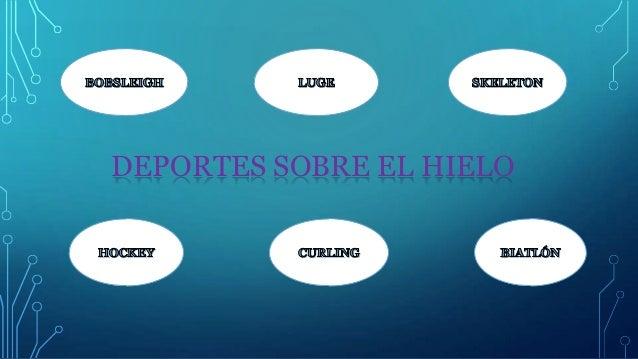 DEPORTES SOBRE EL HIELO