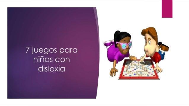 7 juegos para niños con dislexia