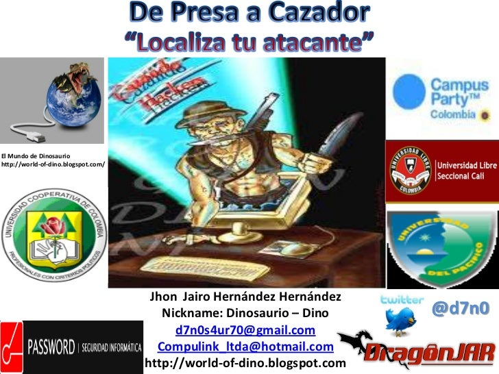 El Mundo de Dinosauriohttp://world-of-dino.blogspot.com/                                      Jhon Jairo Hernández Hernánd...