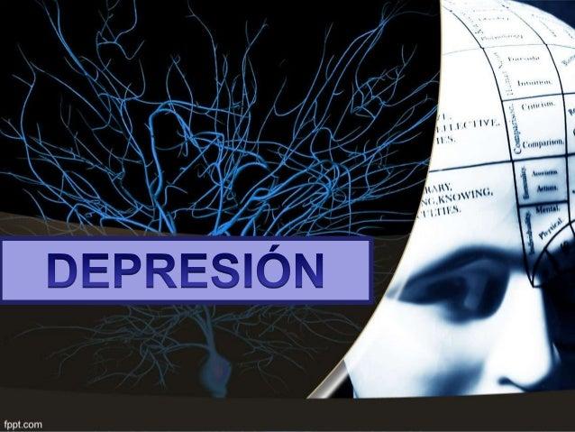 • La depresión es una alteración patológica del estado de ánimo:  descenso del humor al nivel de tristeza,  síntomas y s...