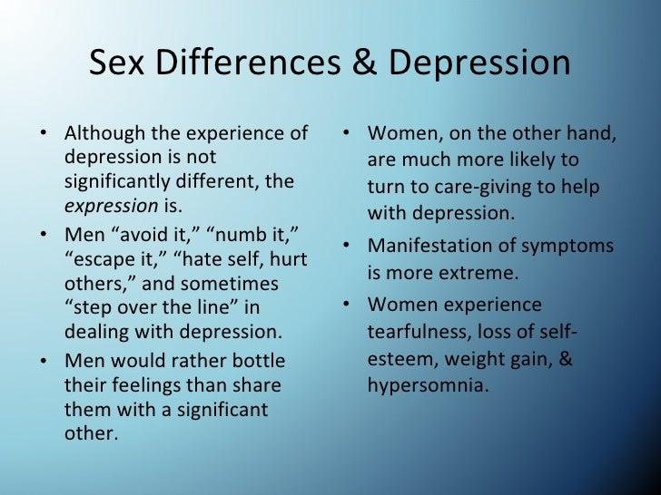 topics on depression