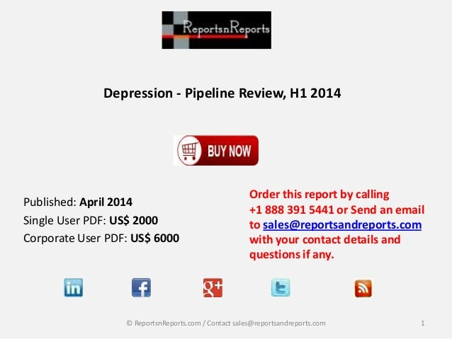 Depression Market Comprehensive Information on the Therapeutic Development