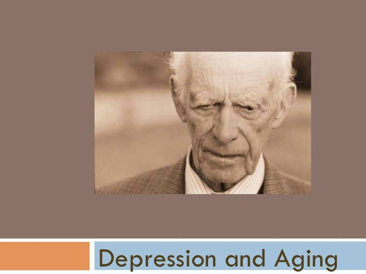 Depression And Aging.National Depression Screening Day.Northrop