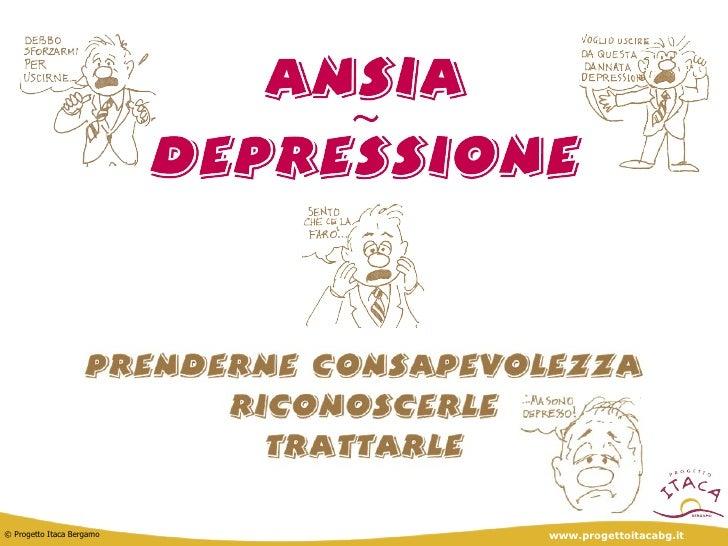 Depressione e Ansia - Progetto Itaca Bergamo