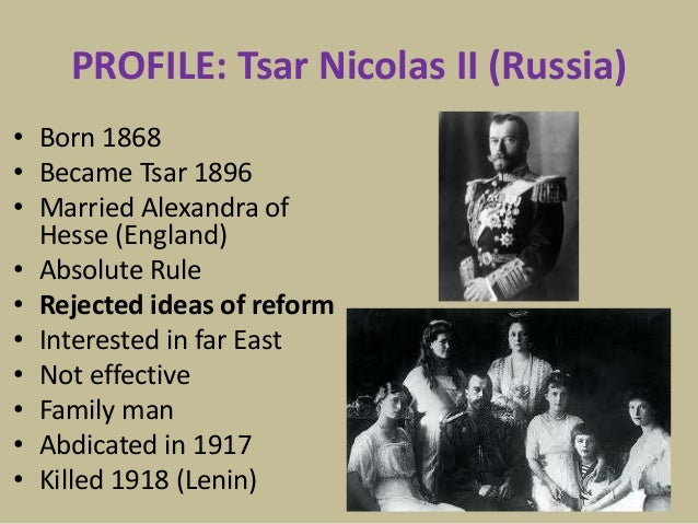 Why did tsars regime collapse ?