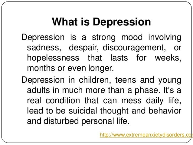 Depression help guide for teenagers