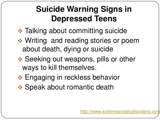 How can i help out depressed teenagers?