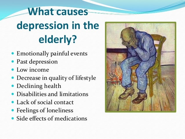 the causes of holdens depression and loneliness