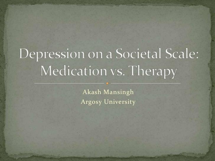 Depression On A Societal Scale