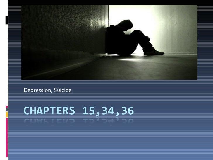 Depression,suicide
