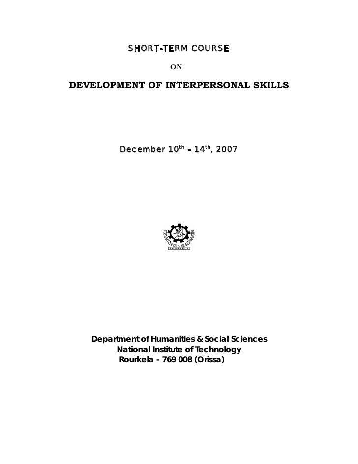 Dept of interpersonal_skills