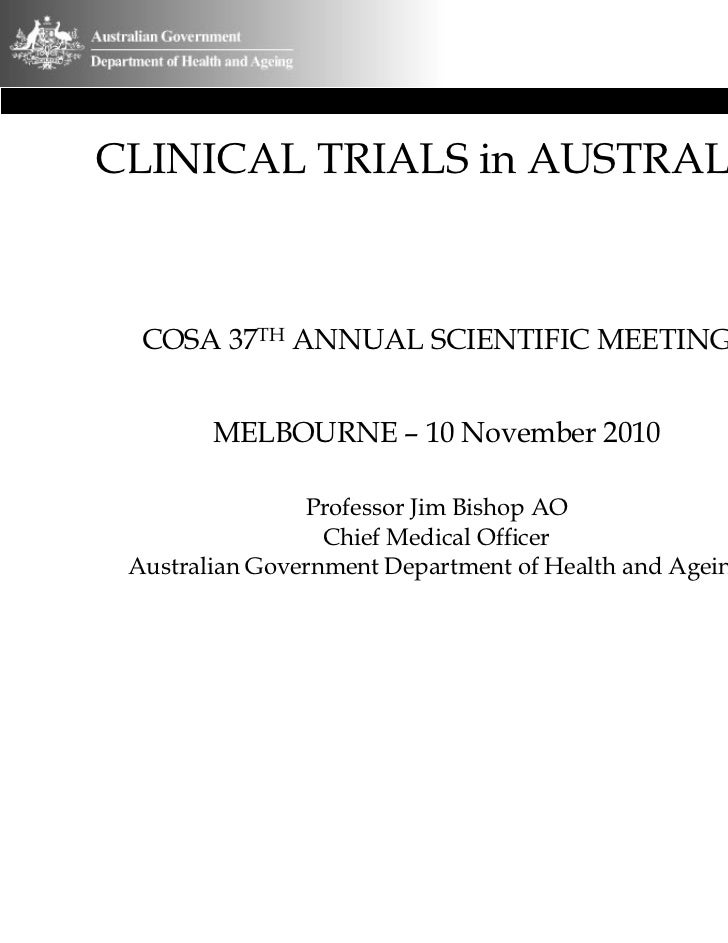 Clinical Trials in Australia