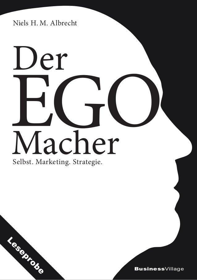 Selbst. Marketing. Strategie. Niels H.M. Albrecht BusinessVillage Leseprobe