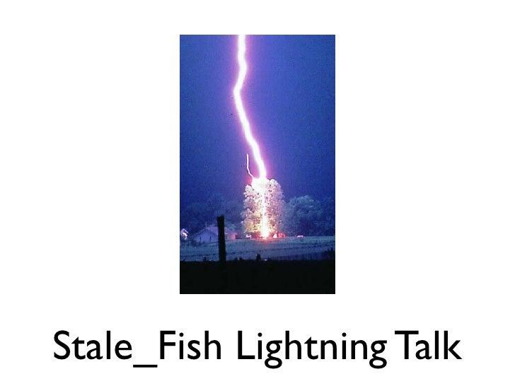 Stale_Fish Lightning Talk