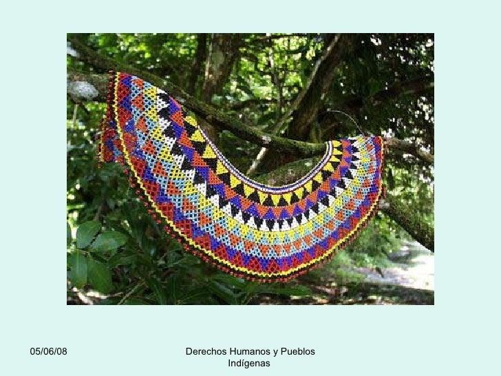 03/06/09 Derechos Humanos y Pueblos Indígenas