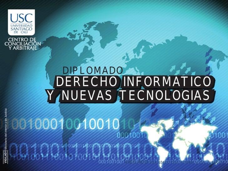 Diplomado en Derecho  Informatico