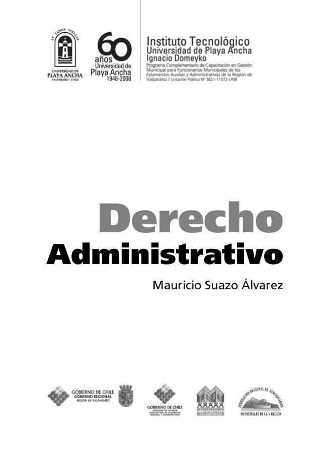 Derecho Administrativo Mauricio Suazo Álvarez
