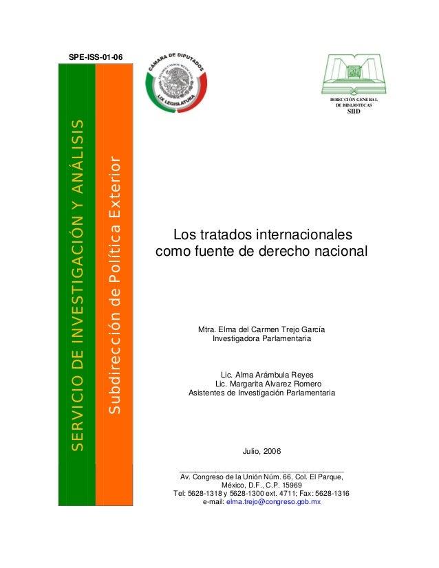 Derecho internacional de los tratados