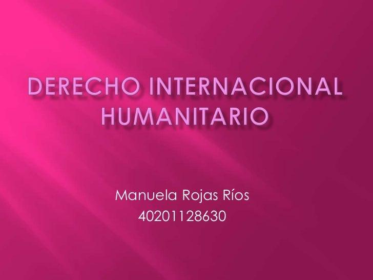 Manuela Rojas Ríos  40201128630