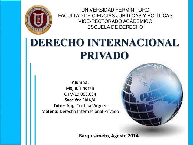 Fuentes del Derecho Internacional Privado y Cuestiones