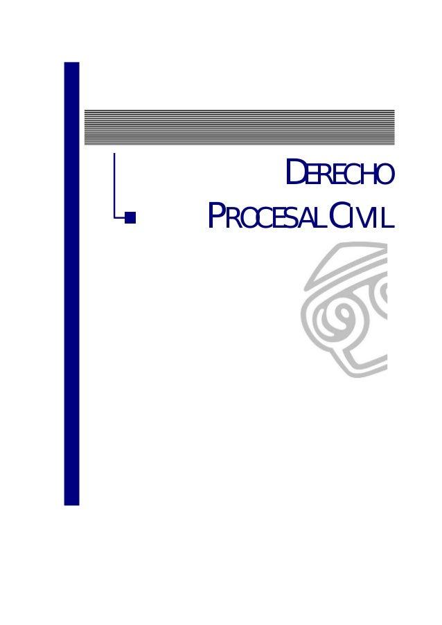 DERECHOPROCESAL CIVIL