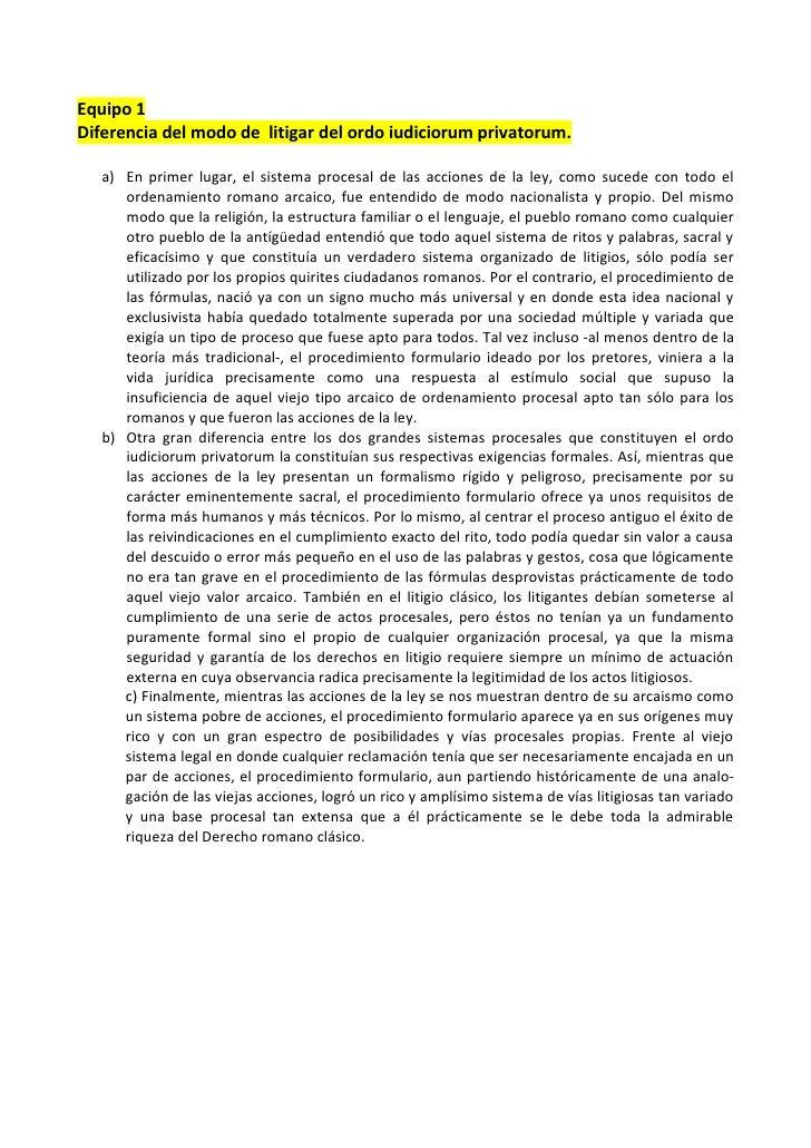 Derecho romano procesal civil