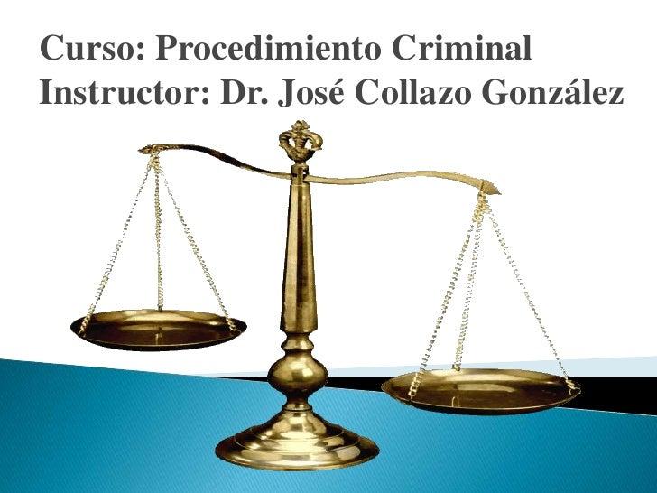 Derecho procesal penal de Puerto Rico