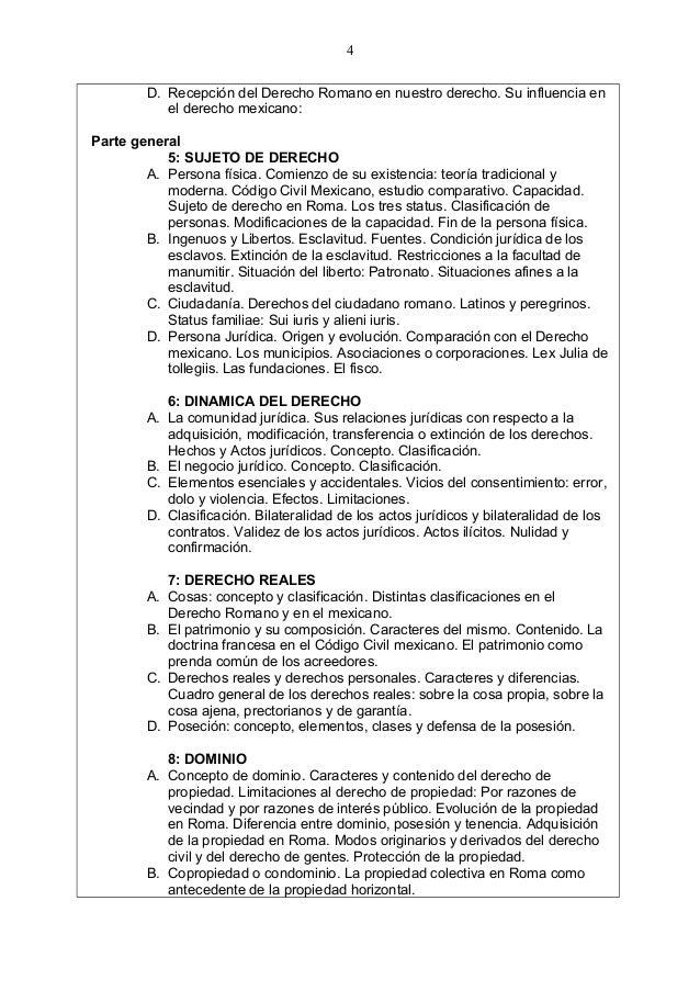 Analisis Del Matrimonio Romano Y El Actual : Derecho romano plan