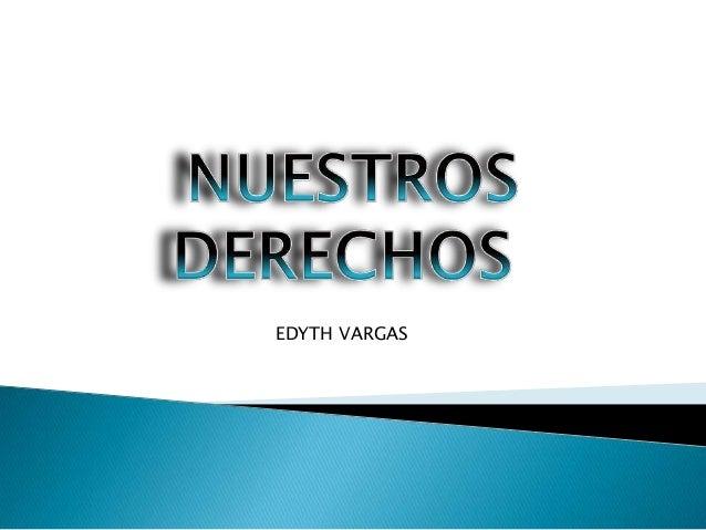 EDYTH VARGAS