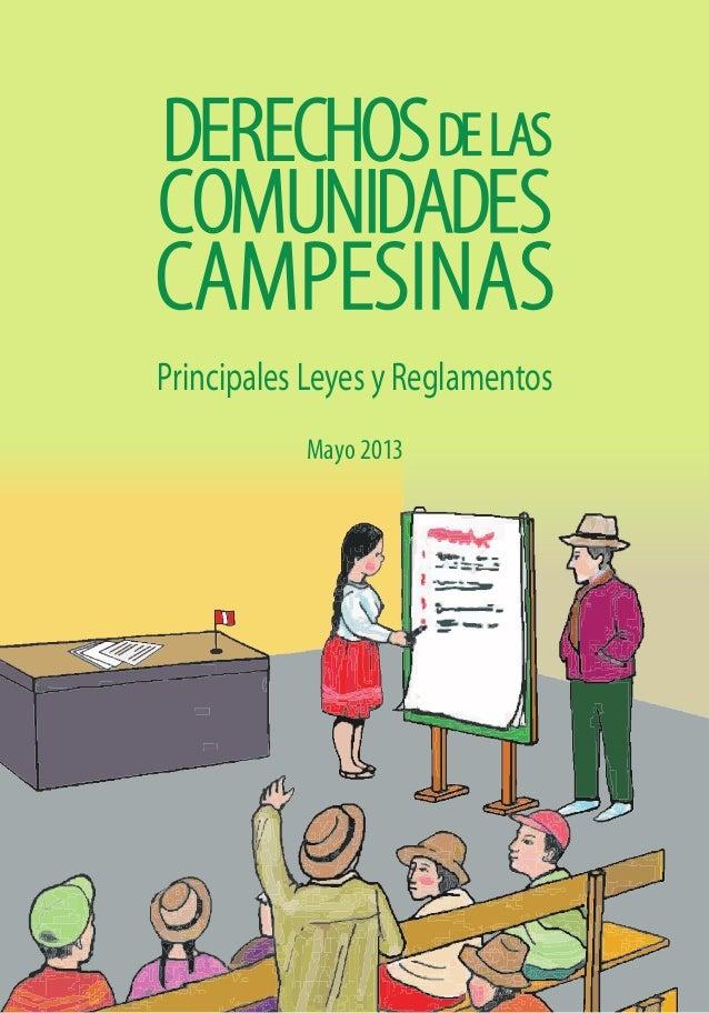 Mayo 2013 Principales Leyes y Reglamentos