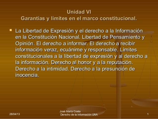 Derechosconstitucionalesynormassobrelibertaddeexpresinyderechoalainformacinbolillas6y7y8 100912192223-phpapp01