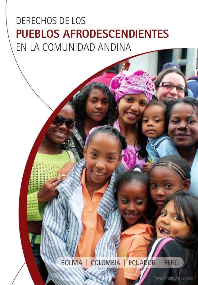 DERECHOS DE LOS  PUEBLOS AFRODESCENDIENTES EN LA COMUNIDAD ANDINA