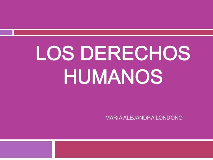 Derechos humanos blog