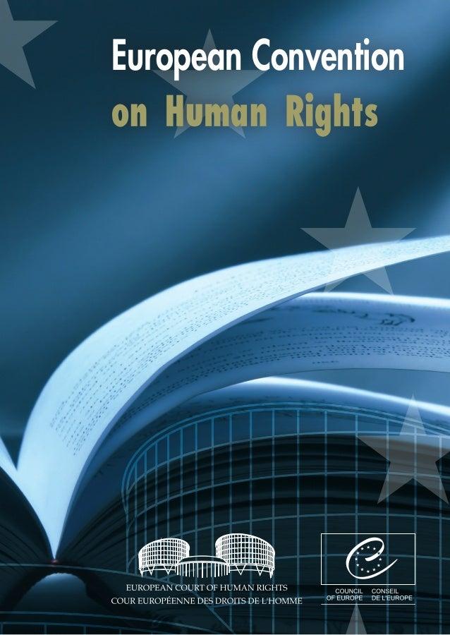 European Conventionon Human Rights