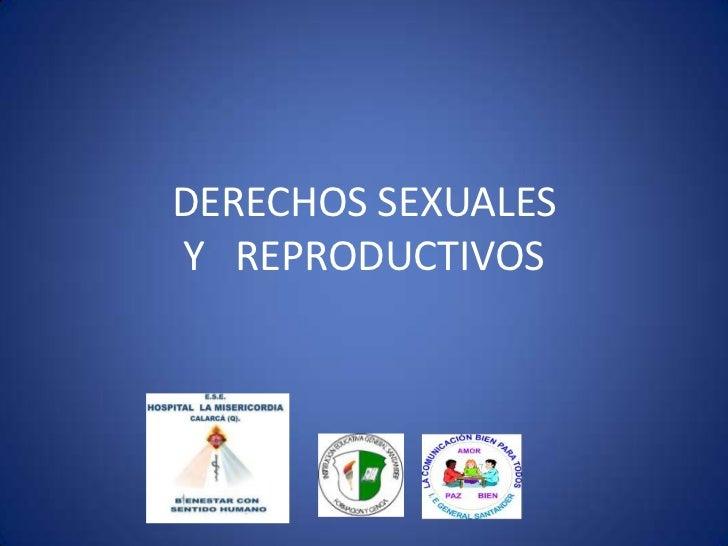 DERECHOS SEXUALESY REPRODUCTIVOS