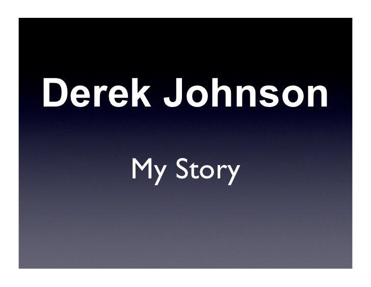 Derek Johnson - Teens in Tech Conference