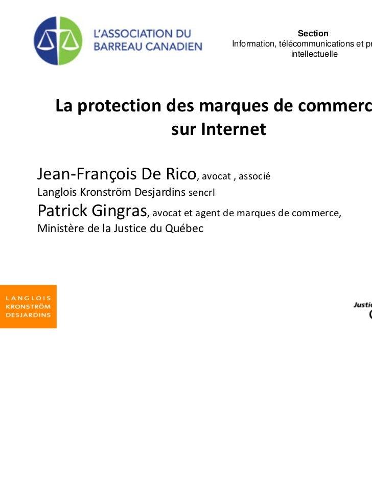 Section                                       Information, télécommunications et propriété                                ...