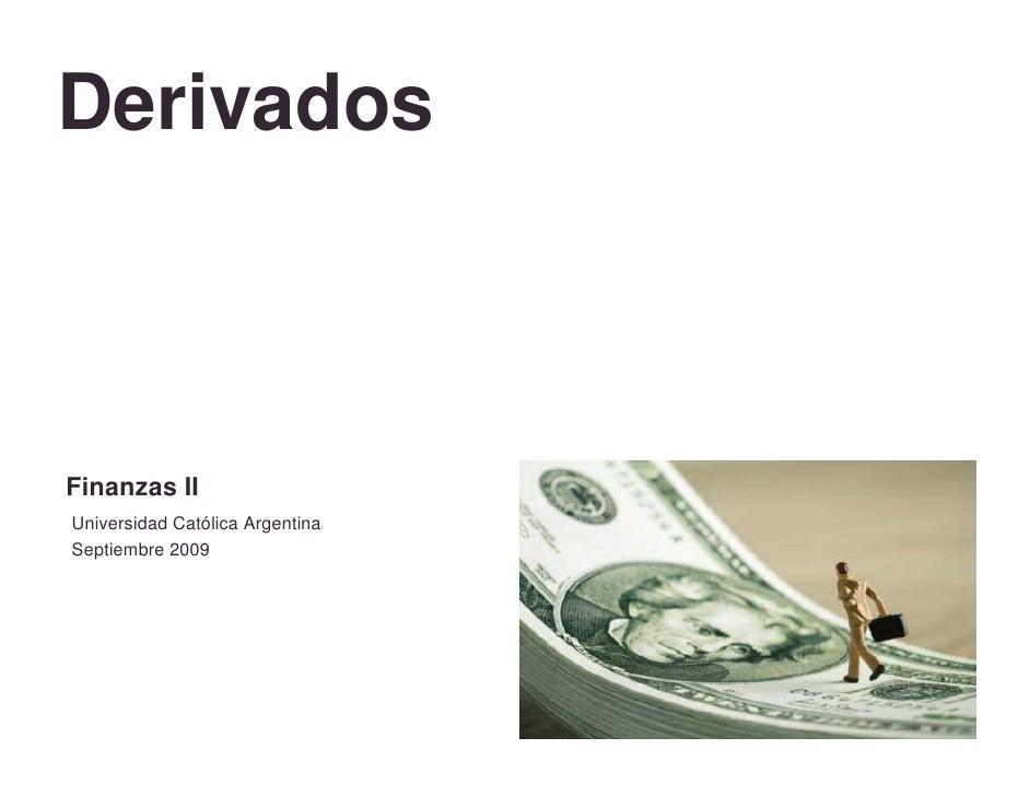 Derivados 2 Q09