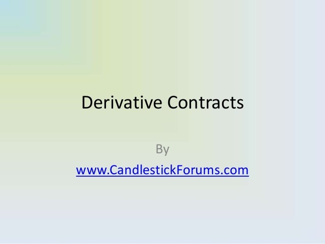 Derivative Contracts