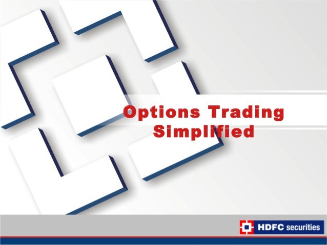 Simplified method for stock options