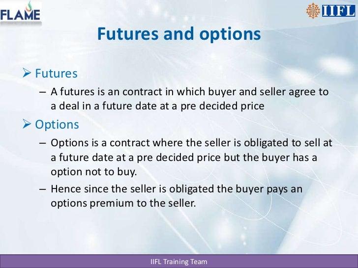 Future option trading basics