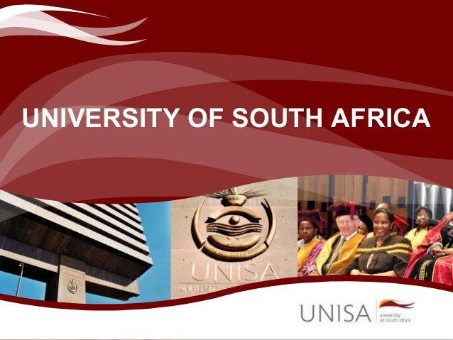 UNIVERSITY OF SOUTH AFRICA