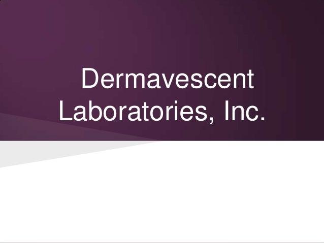Dermavescent Laboratories