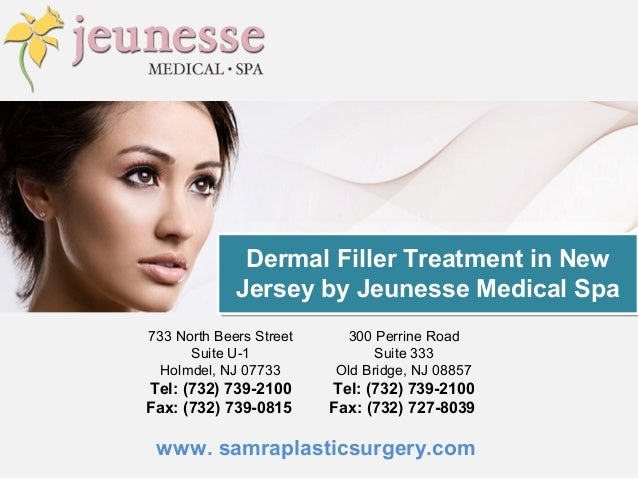 Dermal Filler Treatment in New Jersey by Jeunesse Medical Spa
