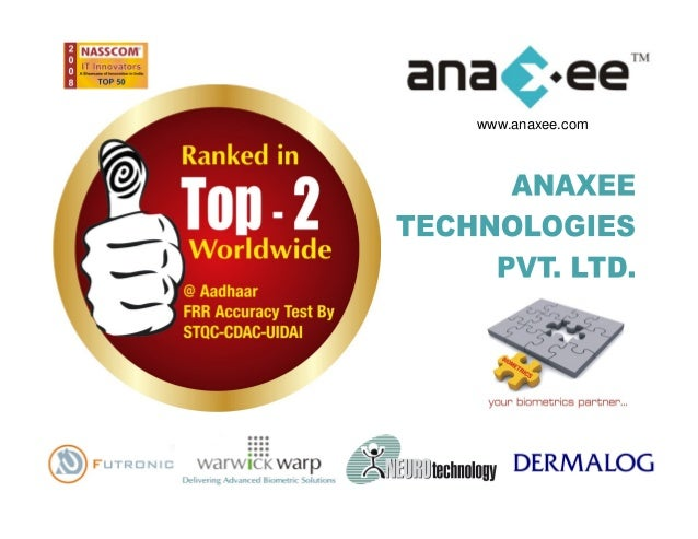 Demo Kit for Aadhaar (UIDAI) Authentication by Anaxee Technologies, using Dermalog F1, from Dermalog - Germany