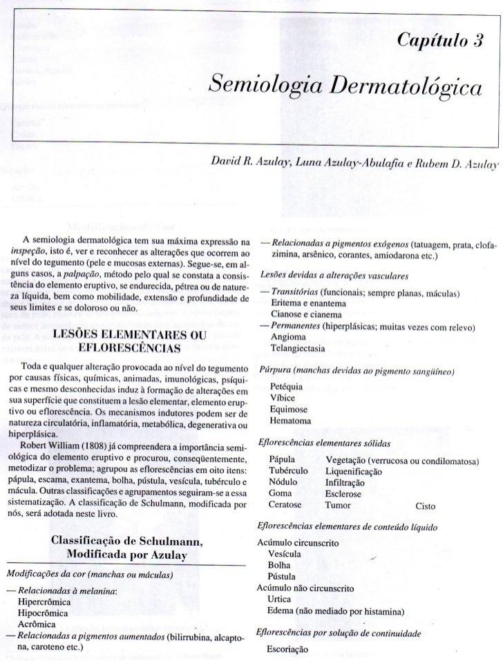 Dermatologia Semiologia Dermatologica