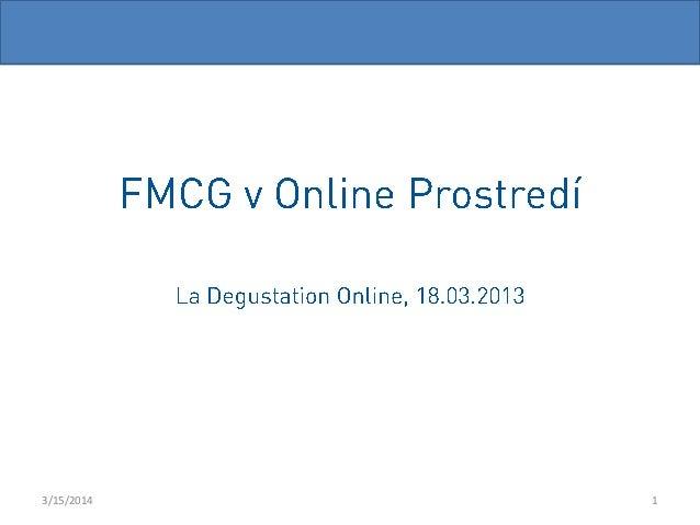 Martin Derňar - FMGC v Online Prostředí