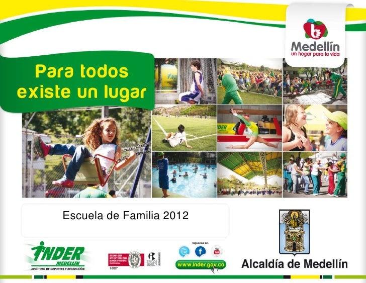 Escuela de Familia 2012