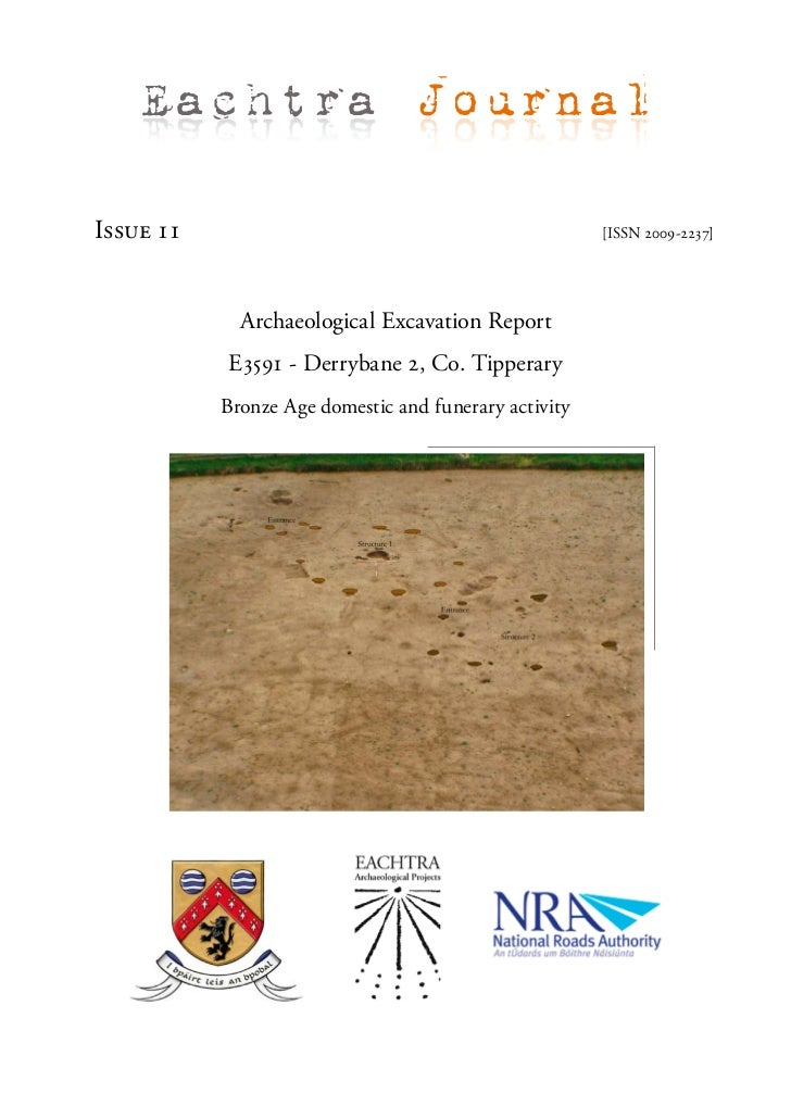 Eachtra JournalIssue 11                                               [ISSN 2009-2237]             Archaeological Excavati...